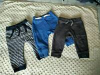 Baby boy joggers 6-9 months