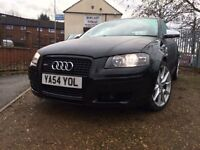 AUDI A3 2.0 TDI SPORT S LINE AUTO AUTOMATIC *TIMING BELT DONE* HALF LEATHER CLEAN VERY NICE CAR