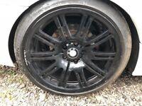 2 x BMW M3 ALLOY WHEEL 255/35/19 -