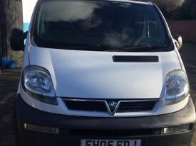 Vauxhall vivaro 1.9 cdti 119k 2005