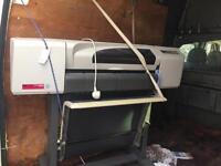 Hewlett Packard designjet 500 professional printer