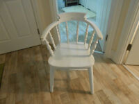 Oak Victorian Painted Chair