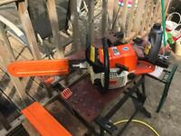"""Sthil 025 18"""" chainsaw with Sthil guard"""