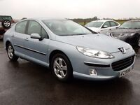 2007 peugeot 407 2.0 hdi 6 speed manual 93000 miles full history motd until feb 2017