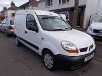 2005 Renault Kangoo sl17dci 70 diesel fsh 14 services mot 21/09/17 NO VAT