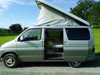 Mazda Bongo / Ford Freda 4 berth campervan with lifting roof