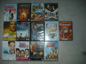13 DVDs for Sale (collect)