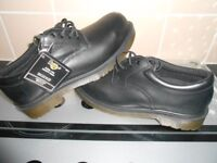 BRAND NEW - DR MARTENS STEEL TOE SAFETY SHOES - SIZE 7