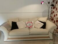 Comfy, elegant sofa from smoke- pet- and child-free home