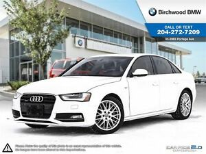 2014 Audi A4 Progressiv Navigation! Local Car! 1 Owner!