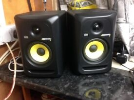 KRK Rokit 5 G3 Pair Boxed excellent condition
