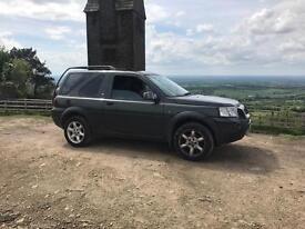 Land Rover freelander 1.8 4x4 2 door