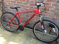 "Python Trail 27.5"" Mountain Bike, red"