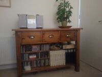 Side Board/Table in Good Quality Pine by Corndell