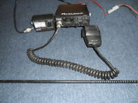 c b radio midland 77104gtl 40 ch c/w mike /swr meter/ aeriel swap not free