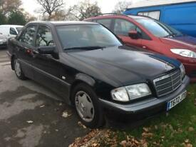 Mercedes Benz C200 esprit automatic 1999 T reg low mileage fsh long mot drives superb bargain..£499