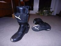 Puma Motorcycle Boots. Excellent condition and ready for collection