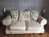 Two seater & four seater sofas