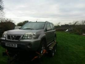 Nissan xtrail spares or repairs