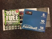 IPG Paintball 16 Tickets + 1600 FREE ROUNDS