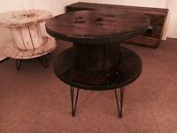 Cable Drum Side Table