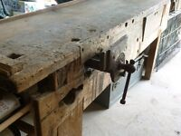 Workbench Complete with Vice