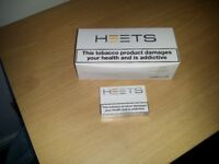 10 unopened packs of yellow heets (IQOS product) for sale.