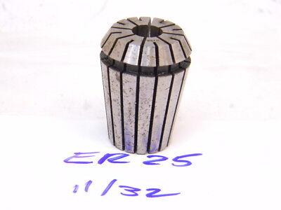 Used Er25 Collet 1132 .3438
