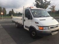 iveco daily drop side with working tail lift [pick up/ flat bed] will swap for van lwb or jumbo