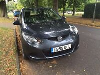 MAZDA 2 2010 GREY 37,000 MILES ONLY INSURANCE CAT D EXCELLENT CONDITION INSIDE AND OUT