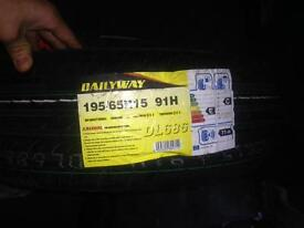 Brand new tyres size 195/65R15