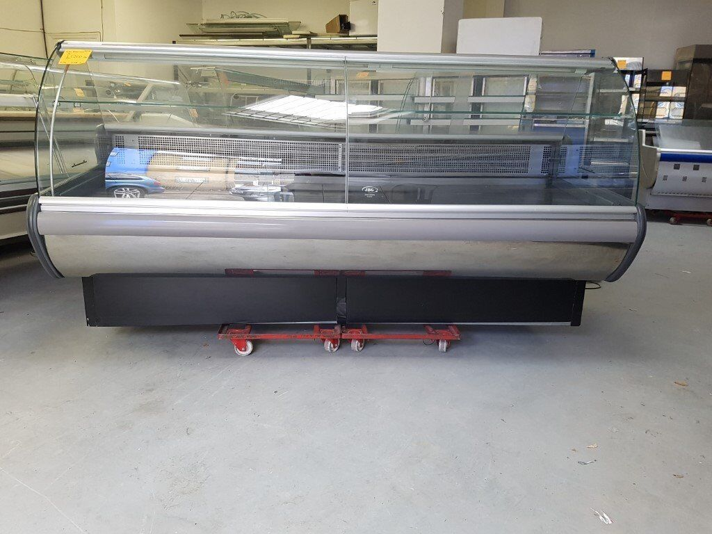 2 Metre Wide Serve Over Meat Display Fridge AST199