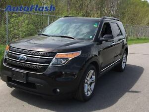 2013 Ford Explorer Limited 4WD/4X4 * Navi * Cuir/Leather *Toit/R