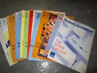 'ACCA' STUDENT ACCOUNTANT MAGAZINE LOTS AVAILABLE ~ MAKE AN OFFER 07739 329 389
