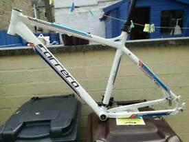 Carerra aluminium bike frame