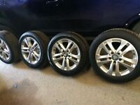 2011 Mercedes C-Class Alloy Wheels