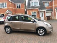 NISSAN NOTE 1.4 ACENTA, MOT 12 MONTHS, CRUISE, BLUETOOTH, HPI CLEAR