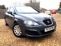 2009 SEAT LEON 1.9 TDI ECOMOTIVE, 1 YEAR MOT,TAX ONLY 30 POUNDS FOR 12 MONTHS!!!!L@@K!!!!!! L