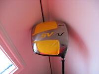 SV 460 Driver standard shaft regular flex, 10.5°,great condition, in Inverbervie