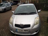 TOYOTA YARIS 1.3 MANUAL 5 DOORS, GENUINE MILES 7700 AND GOOD CONDITION.