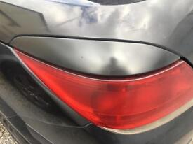Astra Twintop tail lights top tinted cover