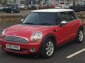 MINI COOPER 2007 (07 REG)*£2799*LONG MOT*RED*MANUAL*PX WELCOME*DELIVERY NATIONWIDE