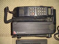 RARE 1980's Motorola 4800x analogue mobile cellular phone (vintage retro)