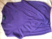Men's Ralph Lauren Polo jumper.