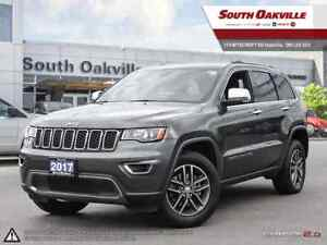 2017 Jeep Grand Cherokee Limited | BLUETOOTH | CAMERA | HEATED L