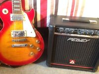 Westfield electric Guitar & Amp for sale