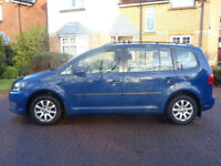 VOLKSWAGEN TOURAN 1.6 S TDI 5d 106 BHP TIMING BELT & WATER PUMP CHANGED FULL SERVICE RECORD ++