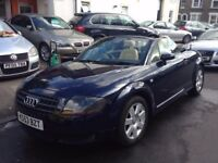 AUDI TT 1.8 TURBO ROADSTER 150BHP CONVERTIBLE 2004 MINT FULL HISTORY LEATHER 1 YEAR MOT 2 KEYS