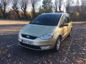 Ford Galaxy 1.8 TDCi Zetec 6G DIESEL 6 Speed 7 SEAT 2007