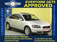 2006 Volvo S40 2.4i * LEATHER * SUNROOF *